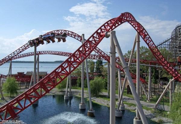 Theme Park Favorite Roller Coaster
