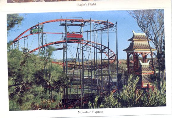 Six Flags Magic Mountain Mark39s Postcard Paradise
