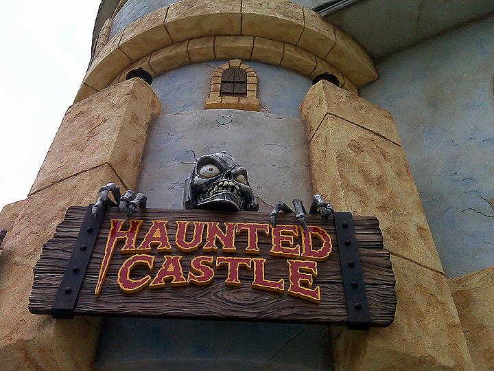 Santa Cruz Beach Boardwalk  Haunted Castle