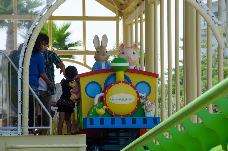 Nagashima Spa Land  Peter Rabbit Coaster