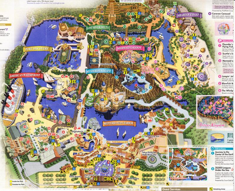 トップ 100+ Disney Sea マップ - セゴタメ