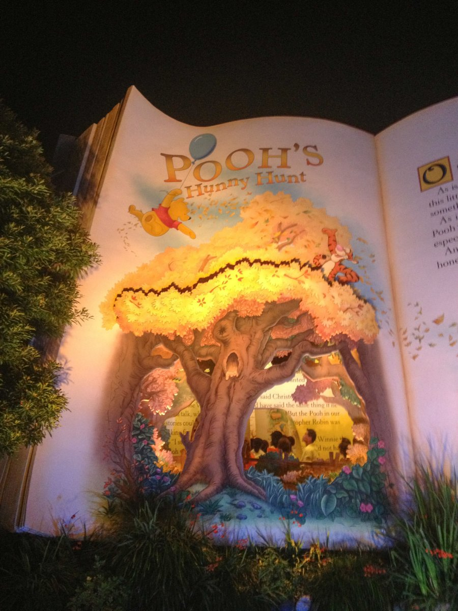 Tokyo Disneyland  Poohs Hunny Hunt