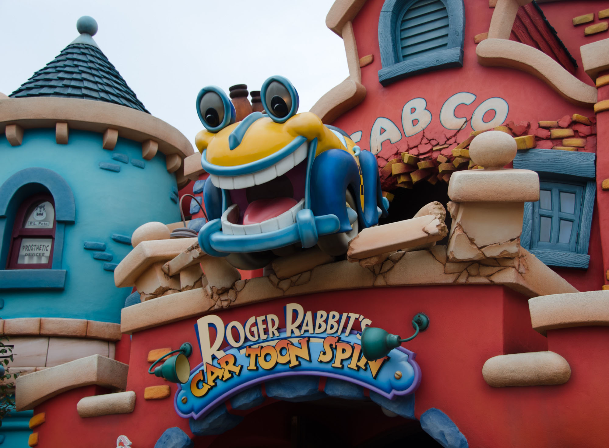 Tokyo Disneyland  Roger Rabbits Car Toon Spin