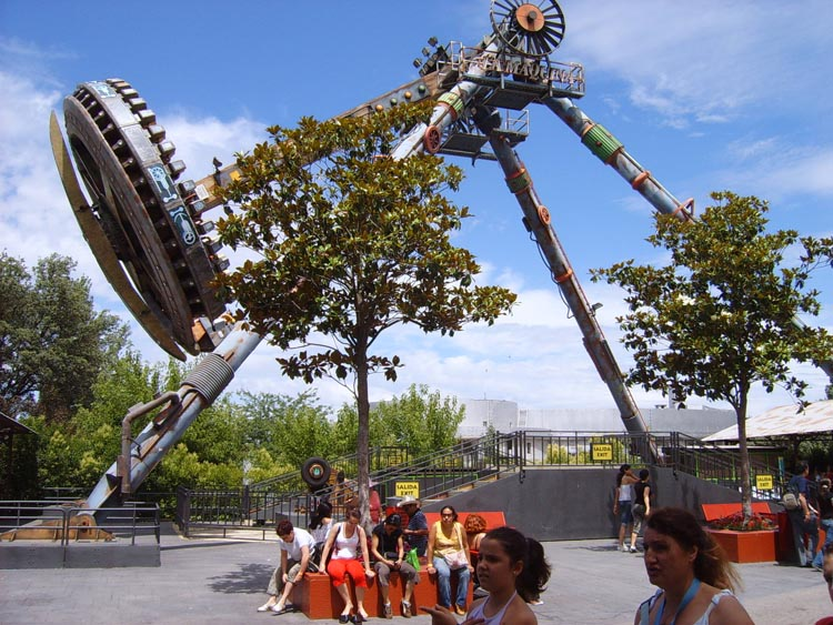 Parque de Atracciones de Madrid  La Maquina
