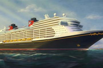 Disney Cruise Line new ship rendering