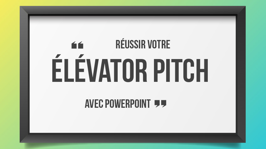 elevator pitch powerpoint