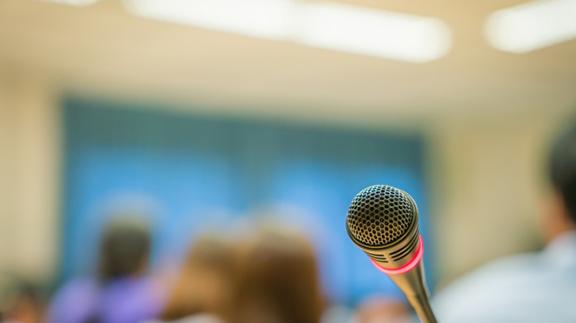 micro presentation orale