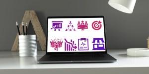 50 icones gratuits powerpoint