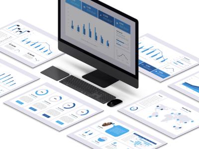 Tableau de bord Powerpoint 2020