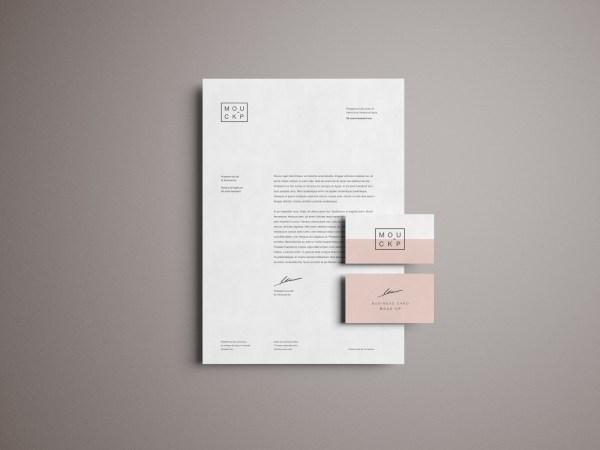 Advanced Branding & Stationery Psd Mockup