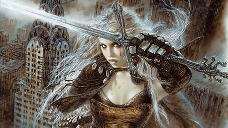 3d 4k Amazon Women Wallpaper Luis Royo Theme For Windows 10 8 7