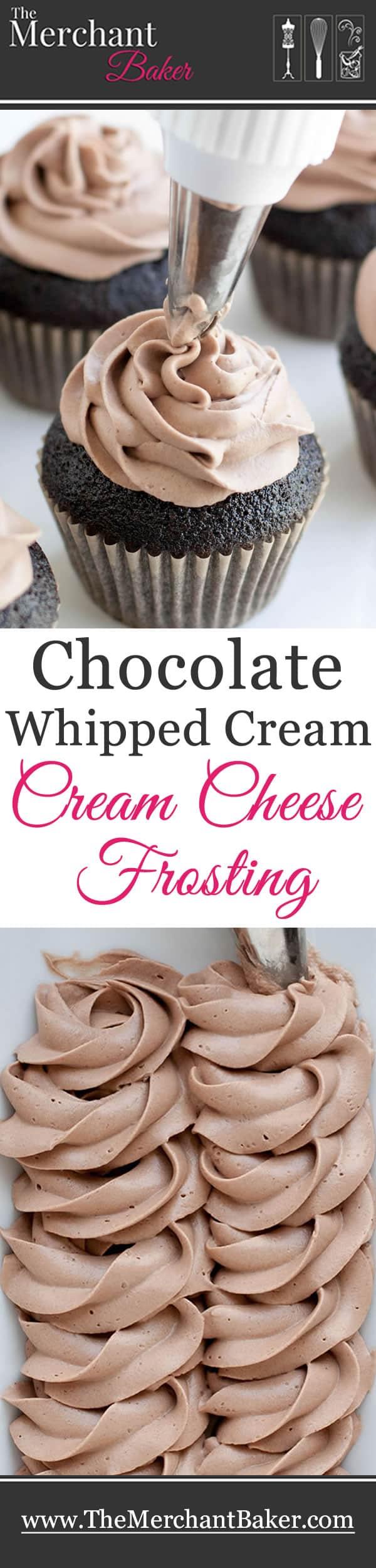 Chocolate Whipped Cream Cream Cheese Frosting