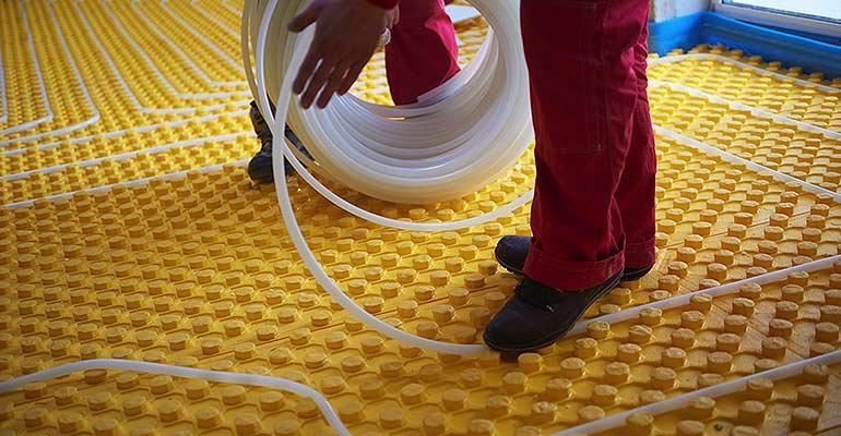 InFloor Heat Installation  Bathroom Floor Heating Services