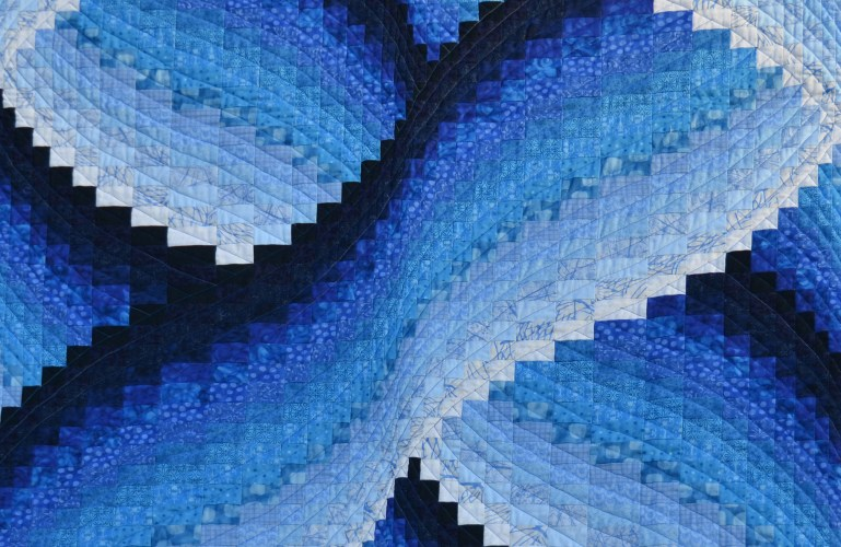 A Beautiful New Wave Quilt