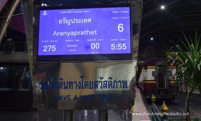 Overland Border Crossing:  Bangkok to Siem Reap