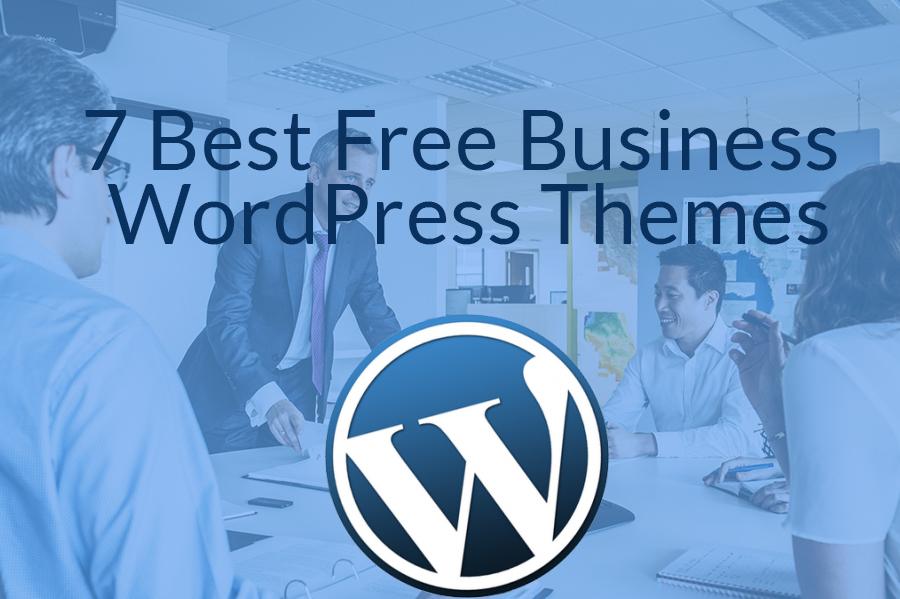 7 Best Free Business WordPress Themes