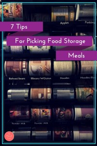 Looking to start your food storage? It can be pretty overwhelming picking food storage meals. Will my family eat it? Will it taste OK with powdered ingred