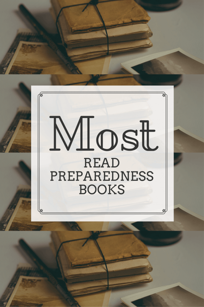 Looking for great resources on preparedness? I've complied a list of best selling preparedness books; including basic survival and food storage to help you
