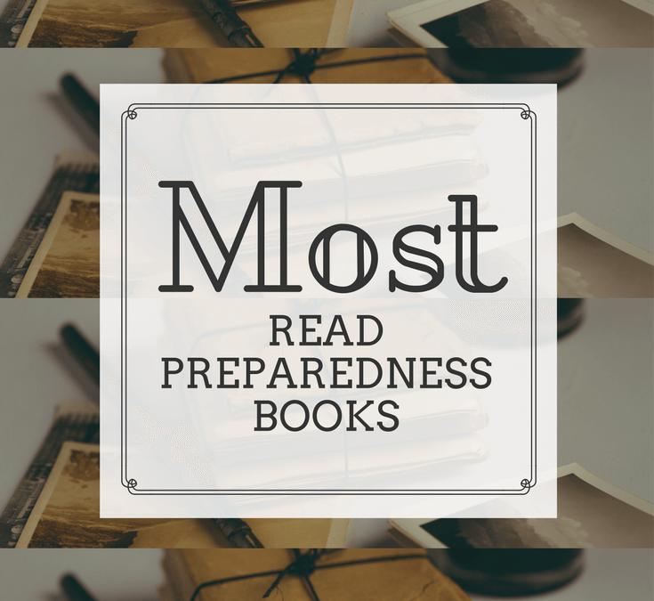 Top Selling Preparedness Books