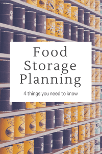 Have you built up a small food storage and are looking to grow that into a year supply?  There are a few things you want to think about and plan | long term food storage planning |