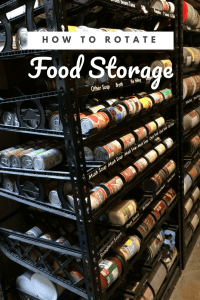 It's so hard to remember to use food storage when it's stored all over your house. Here are 8 tips for how to rotate your food storage. | rotate food storage |