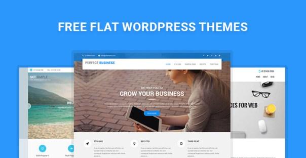 free-flat-wordpress-themes