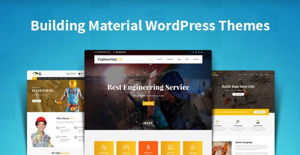 Building Material WordPress Themes