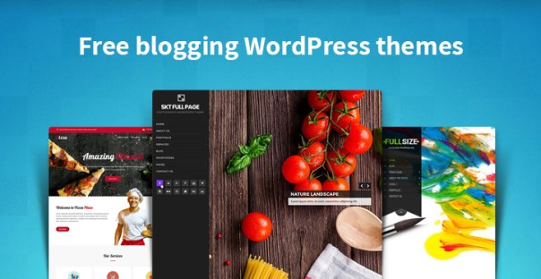 Free blogging WordPress themes