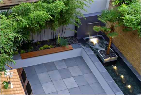 Small Square Garden Ideas The Gardening