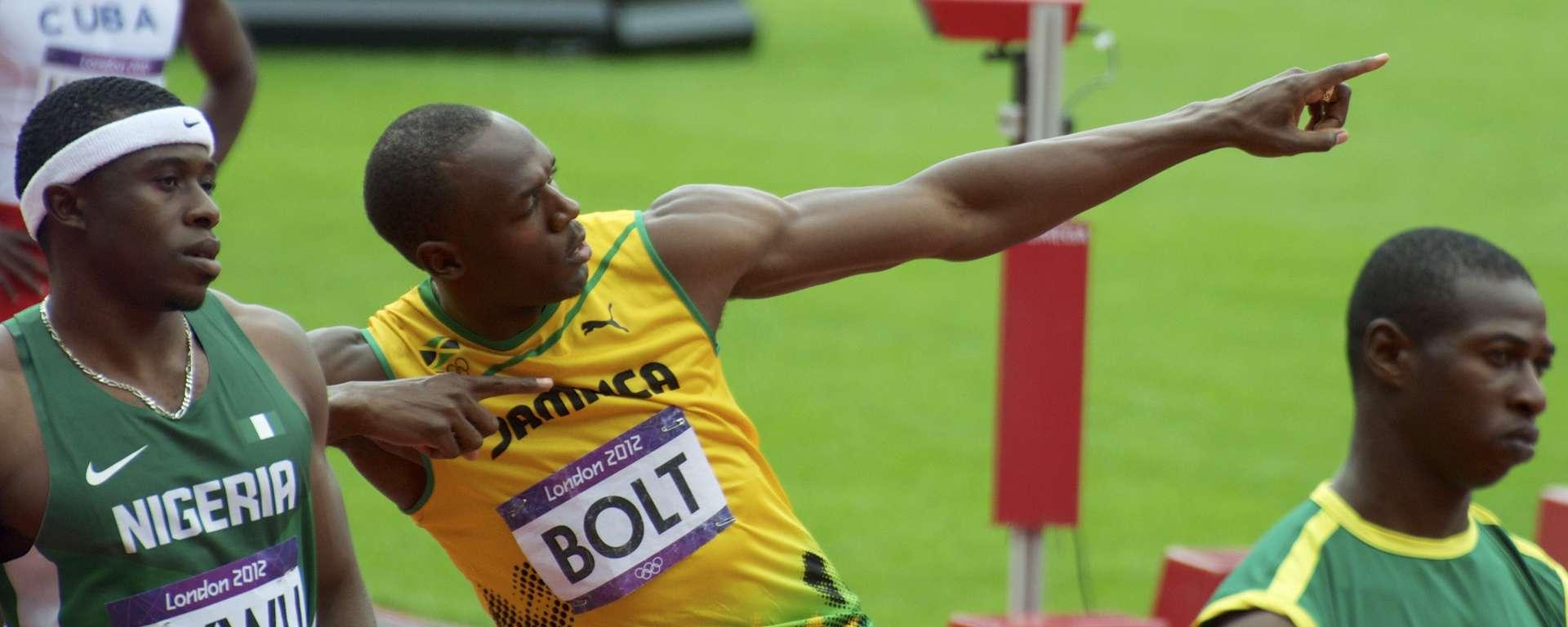 Usain Bolt, London 2012