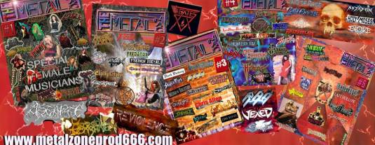 The Metal Mag issues since 1998