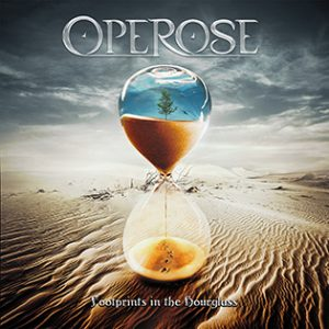 Operose : 'Footprints in the Hourglass' album March 2017 Lion Music Records