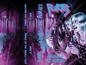 """Furies : """"Unleash the furies"""" K7 2 titres self release"""