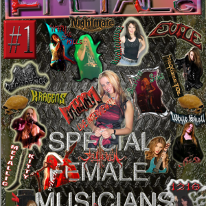 The Metal Mag N°1 Special Female Musicians