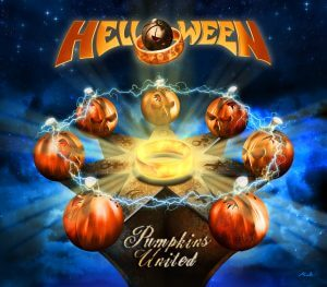 "Helloween : ""Pumpkins United"" Digital single Autumn 2017."