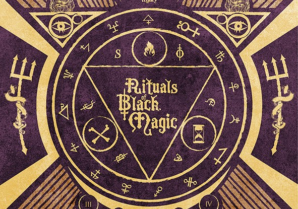 "Deathless Legacy : ""Rituals of Black Magic"" Digipack CD 19th January 2018 Scarlet Records ."