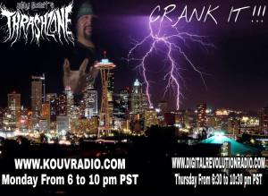 Thrash Zone radio with Billy Bolt from Portland USA