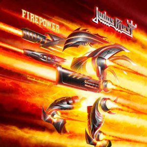 "Judas Priest : "" Firepower "" Digipack CD & CD & LP 9th March 2018 Sony."