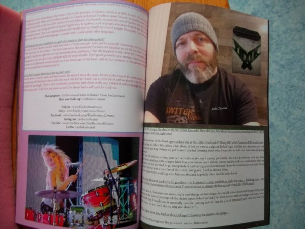 ©The Metal Mag N° 22 with Elie Bertrand and Toxic