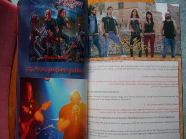 ©The Metal Mag N° 22 with Project Pain and Kramp