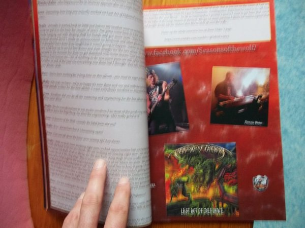 ©The Metal Mag N° 22 with Seasons of the Wolf