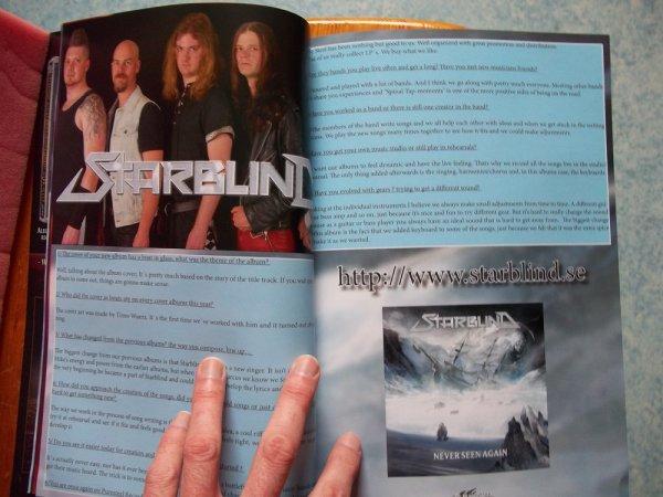 ©The Metal Mag N°20 with Starblind