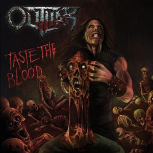 """Outliar : """"Taste The Blood"""" CD 8th July 2018 Malevolence Records."""