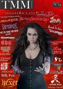 @The Metal Mag N°24 July - August 2018 Hexed (Svenska / English ) , Stone Mob , Rik Fox & Jim Crean , Genus Ordinis Dei , Alison Masson : Johnny Gieoli , Metal Babe Mayhem , Franco Giovannini : Beneath The Fallen (Italiano / English) , No Return (Français / English) , Jenna williams : Jason Charles Miller , Satan Jokers - Renaud Hantson (Français / English) , Weapon Uk , The End of Melancholy , Java , United Rock Nation : Doro Pesh , KrashKarma , Siren Call , United Rock Nation : UDO , Kaili Rose photos , Greystone Canyon , Cortney Debow , Syracuse photos , Diemonds , Tomorrow's Eve , Serial Vice (English/ Italiano) , Remember the Light (Français / English) , Acid Rain (Français / English)