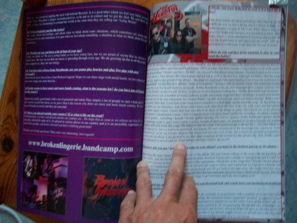 The Metal Mag N°8 with Broken Lingerie