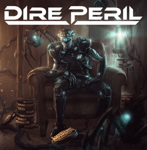 "Dire-Peril : ""The Extraterrestrial Compendium"" CD & Digital 9th November 2018 Divebomb Records."