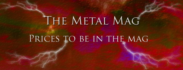 The Metal Mag Payment infoThe Metal Mag Payment info