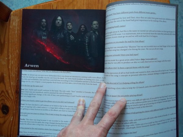 ©The Metal Mag N°26 with Arwen