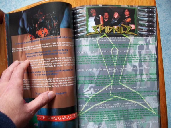 ©The Metal Mag N°3 with Garage Days and Spidkilz
