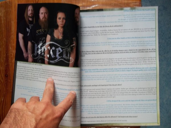 ©The Metal Mag N°24 with Hexed
